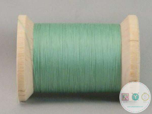 YLI Hand Quilting Glazed Cotton Thread - Mint Green 211-04-008 - Waxed