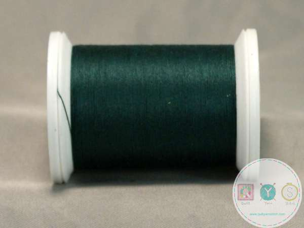 YLI Machine Quilting Cotton Thread - 40 WT - Green 244-50-010 - Forest Green Thread
