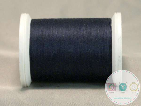 YLI Machine Quilting Cotton Thread - 40 WT - Dark Blue 244-50-015 - Navy