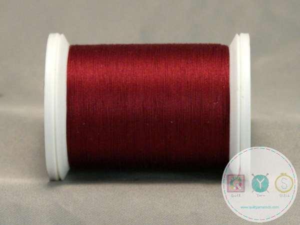 YLI Machine Quilting Cotton Thread - 40 WT - Cabernet 244-50-022 - Deep Red