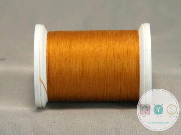 YLI Machine Quilting Cotton Thread - Mustard 026 - Yellow