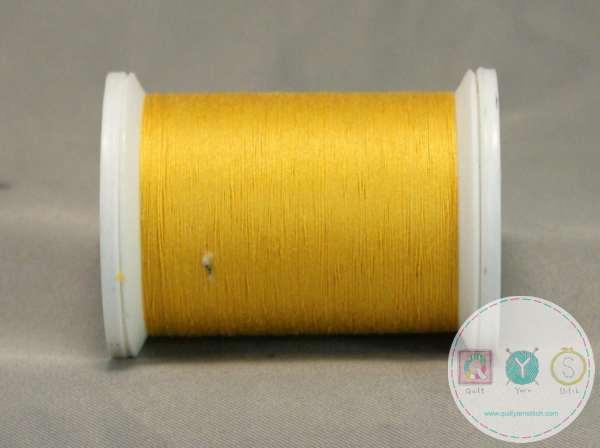 YLI Machine Quilting Cotton Thread - Lemon 027 - Yellow