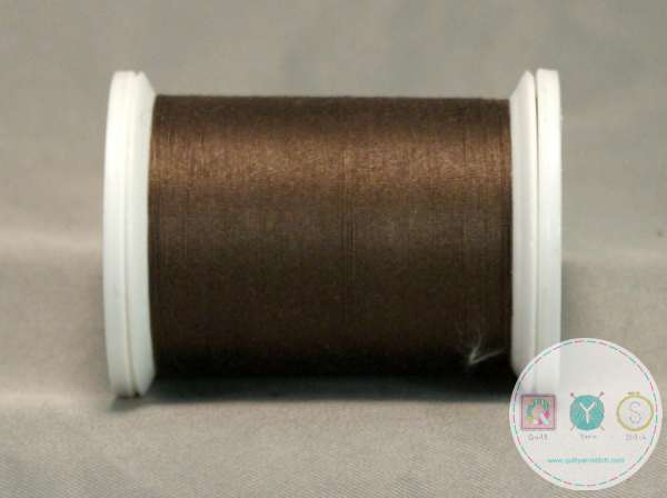 YLI Machine Quilting Cotton Thread - 40 WT - Taupe 029 - Dark Brown