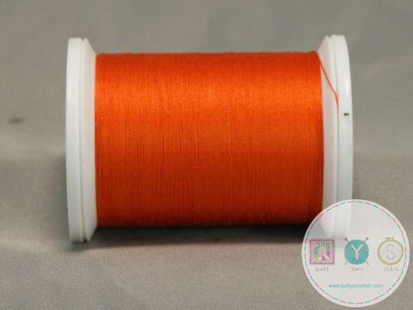 YLI Machine Quilting  Cotton Thread - 40 WT - Orange 035