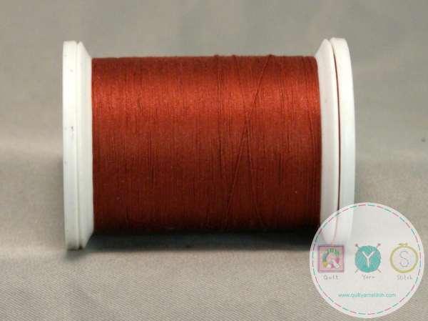 YLI Machine Quilting Cotton Thread - 40 WT - Rust 036
