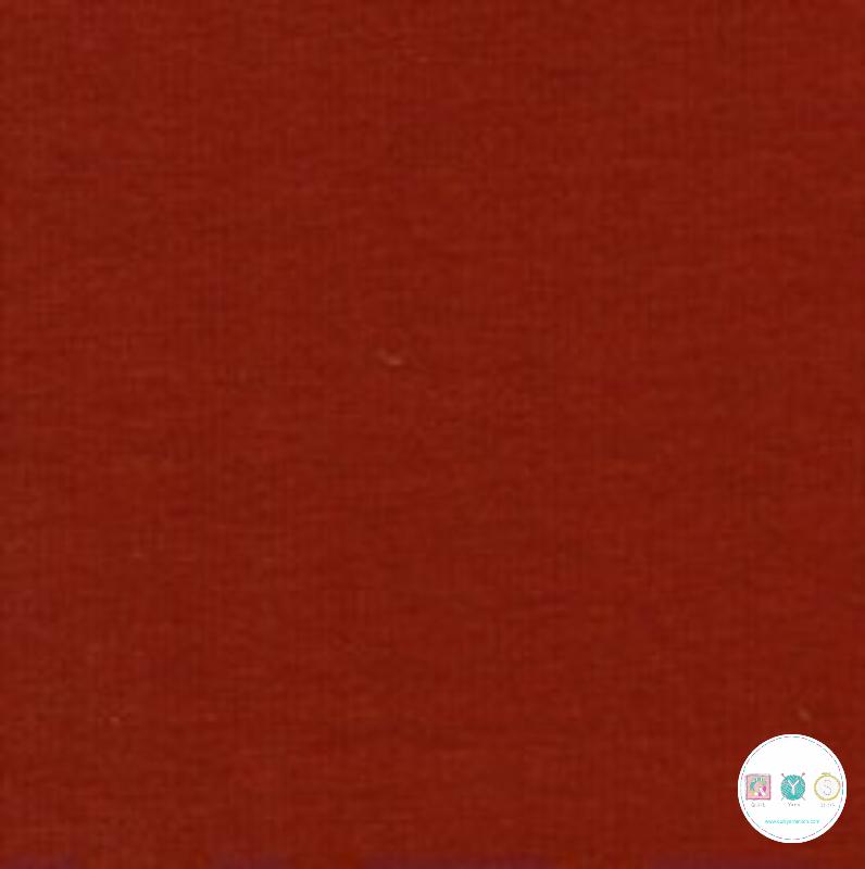 Terra - Dark Orange - Soft Sweat - 225gm/2 - Cotton Stretch Jersey - GOTS - Dressmaking Fabric