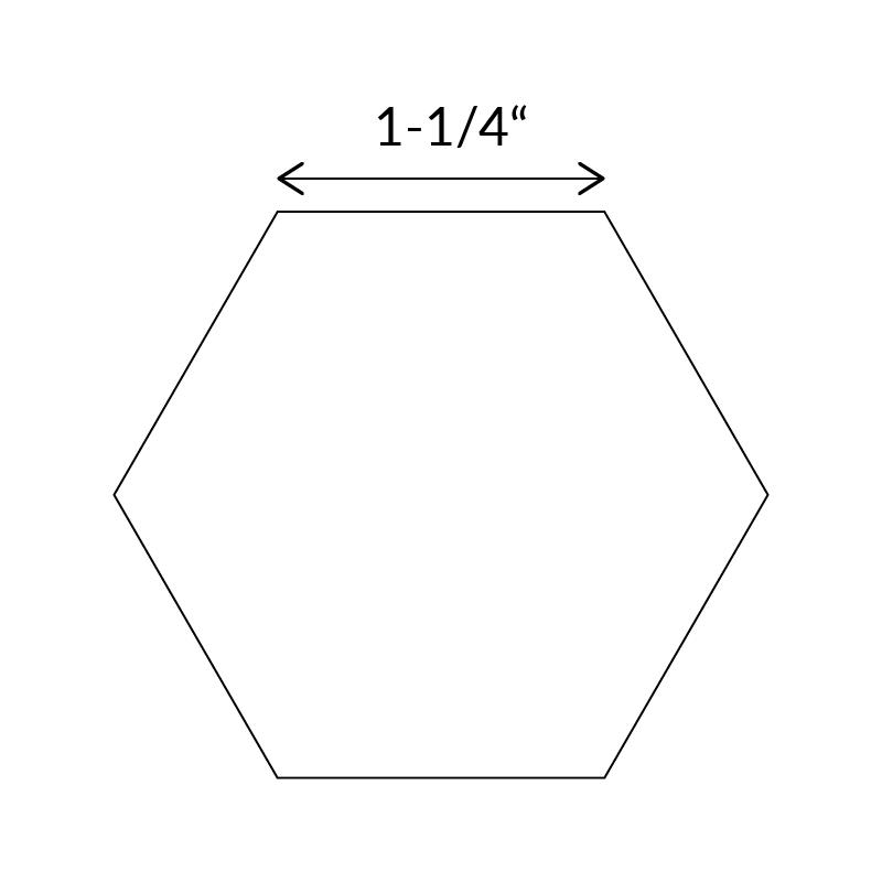 Paper Piecing - 1.25