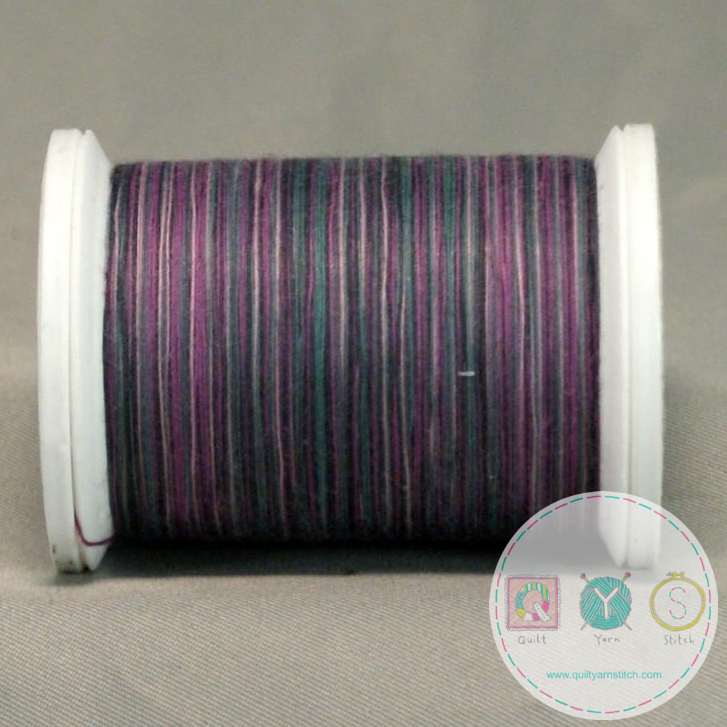 YLI Machine Quilting Cotton - Jewel Thread 244-50-12V - Variegated Purple Mix Thread