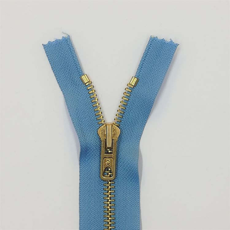 Zip- 13cm Jeans - Light Blue