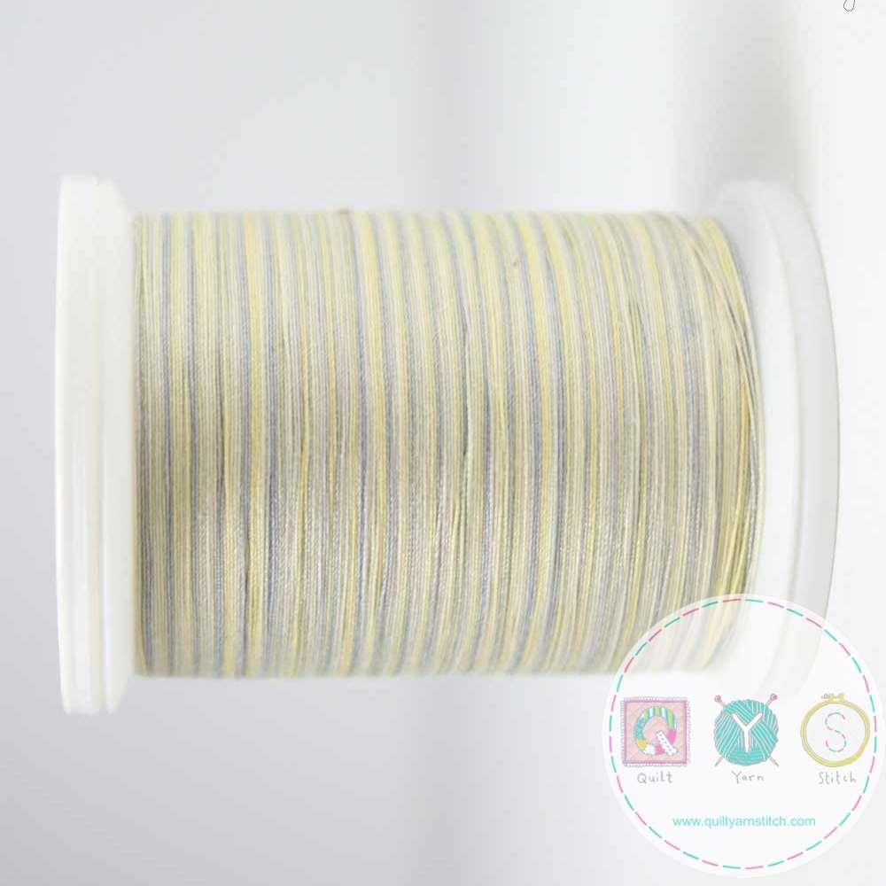 YLI Machine Quilting Cotton - Sand Thread 244-50-16V - Variegated Cream Mix