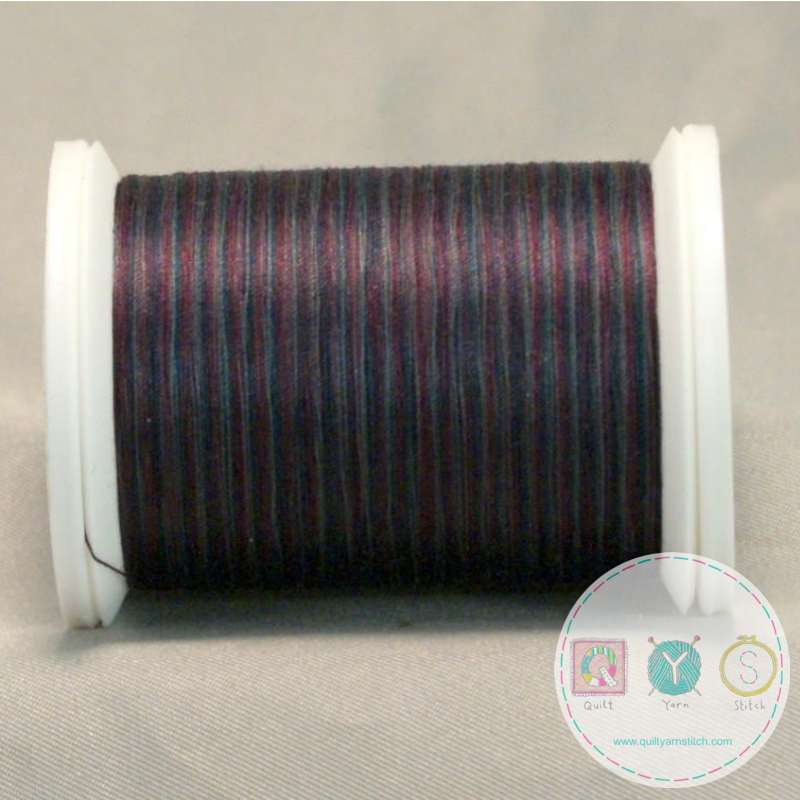 YLI Machine Quilting Cotton Thread - Plum 244-50-20V - Variegated Purple Mix Thread