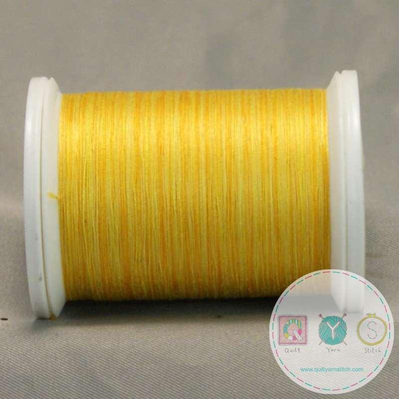 YLI Machine Quilting Cotton Thread - Sunrise 244-50-21V - Bright Yellow Thread