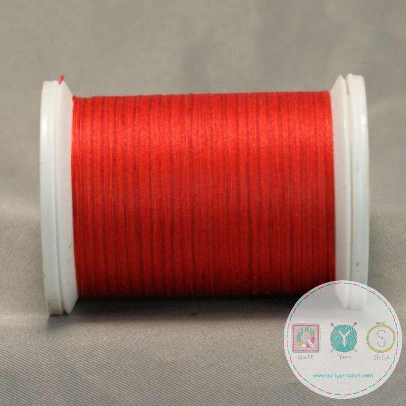 YLI Machine Quilting Cotton Thread - Sunset 244-50-22V - Deep Orange Thread