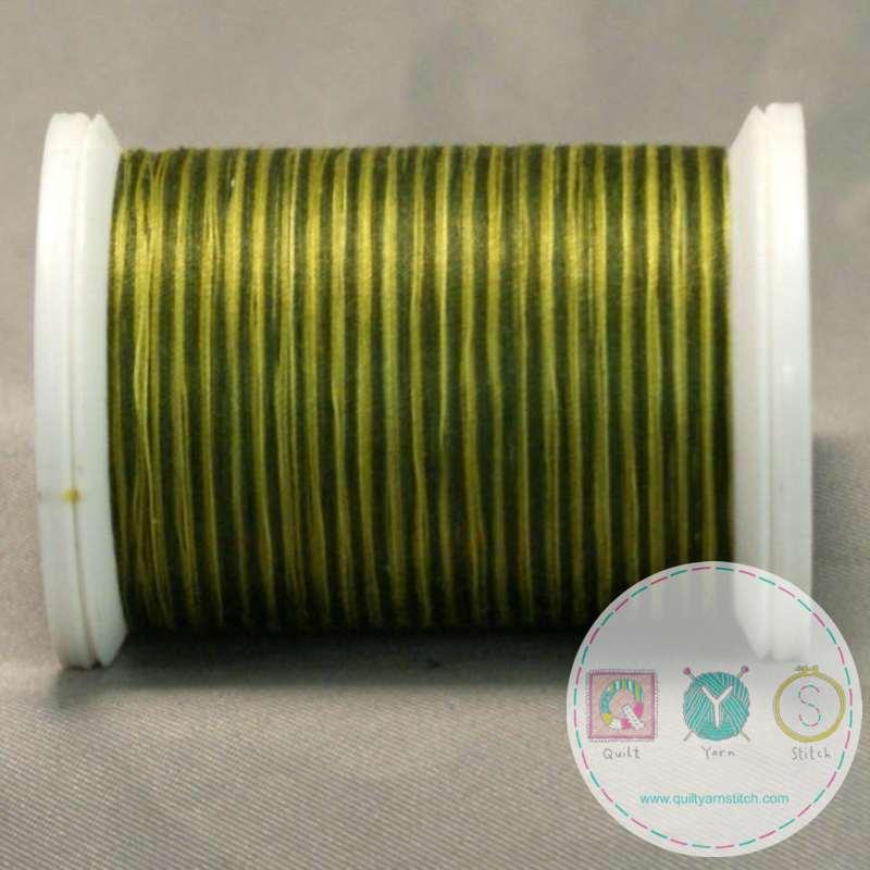 YLI Machine Quilting Cotton Thread - Foliage 244-50-23V - Variegated Green Mix Thread
