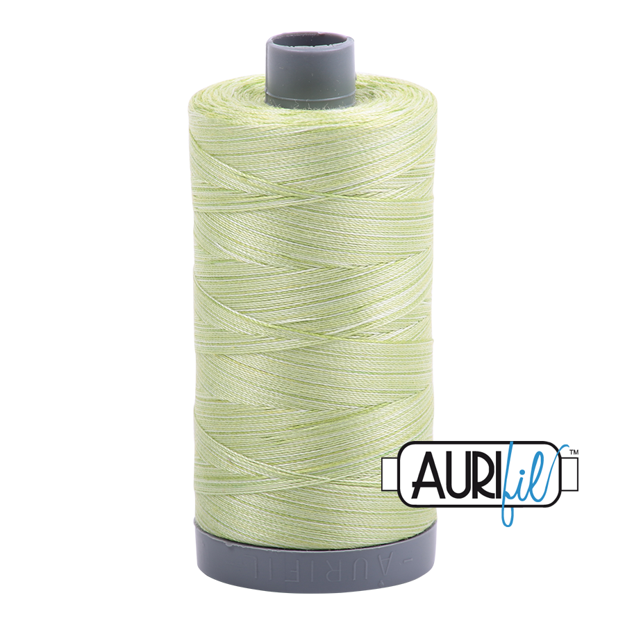 Aurifil Light Spring Green Thread - a3320 - 28/2 - 28wt - Quilting cotton Thread