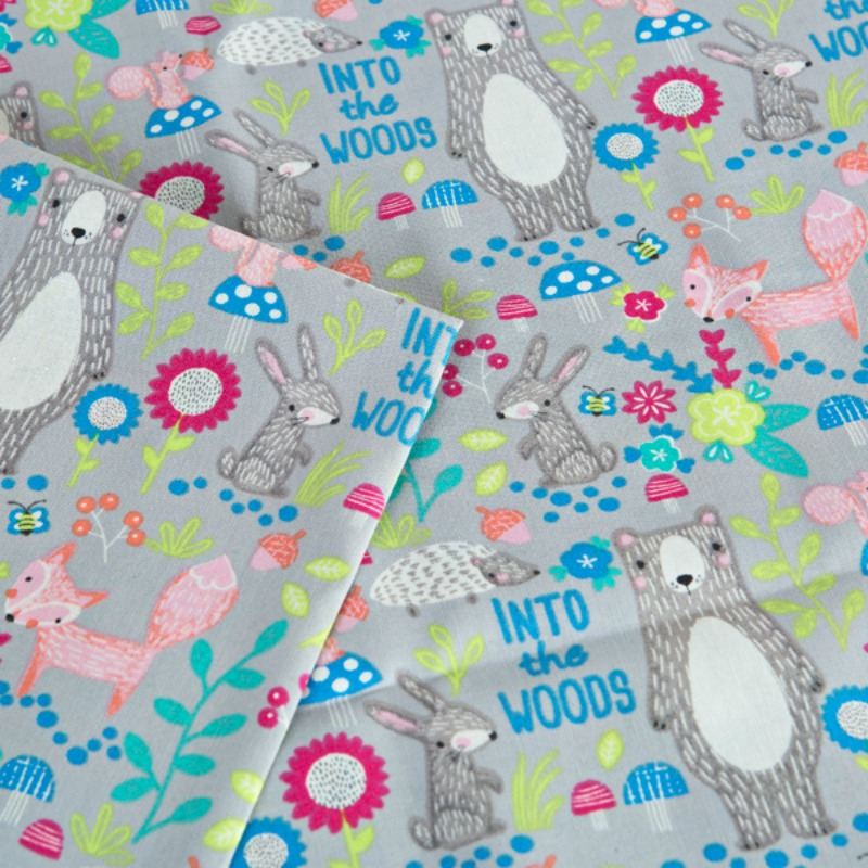 Woodland Animals Into The Woods The Quilt Shop