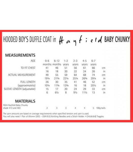 c33c22ef0e0343 Garter-Stitch Coat in Hayfield Baby Chunky - 4486 - Quilt Yarn Stitch