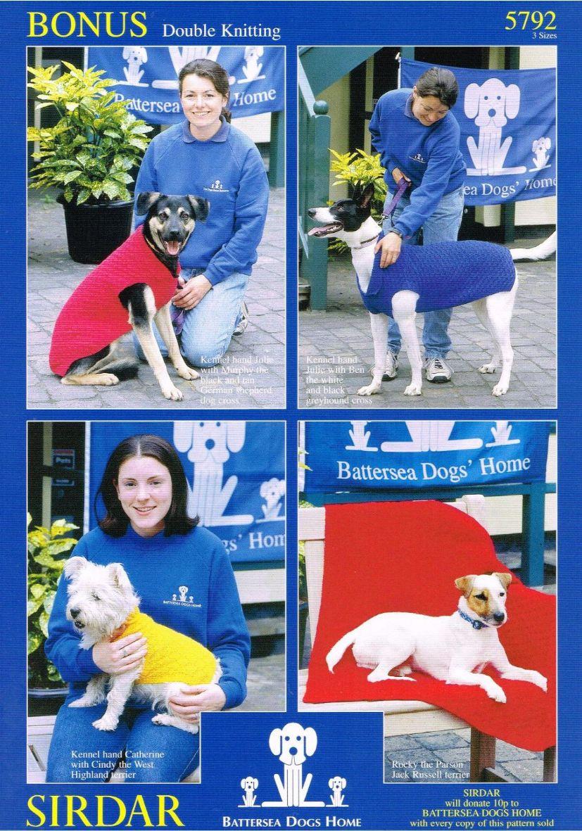 Dog Coat and Blanket Knitting Pattern in Hayfield Bonus DK - 5792