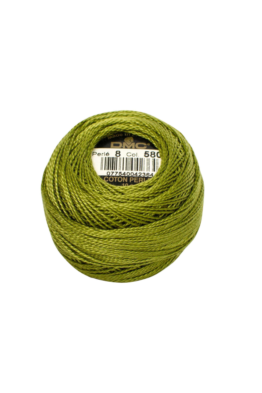 Green Perle 8 Embroidery Thread DMC8-580 Pearl Cotton
