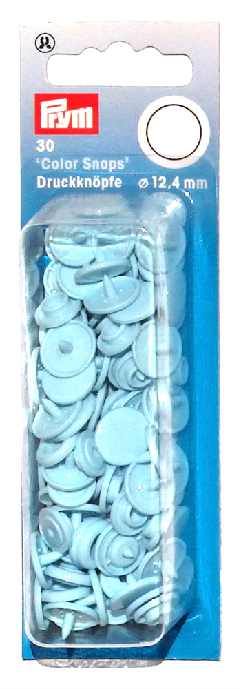 Prym Baby Blue Colour Snaps - Childrens Clothes Snaps - Buttons - Haberdashery