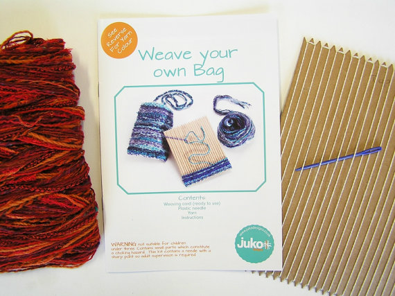 Gift Idea - Weave Your Own Bag Kit - By Juko Designs