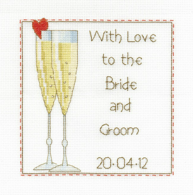 Counted Cross Stitch Celebration Sampler