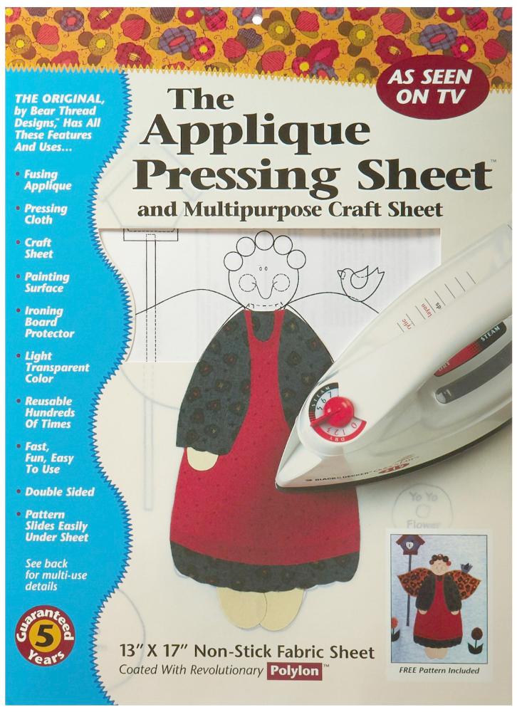 Applique Pressing Sheet by Bear Thread Designs
