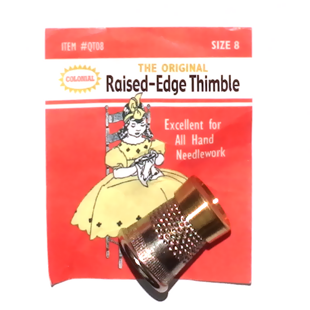 Colonial Raised Edge Thimble