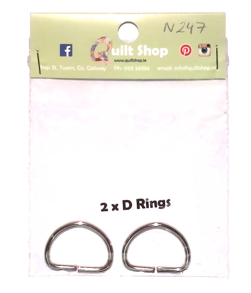 D Rings for Bag Making