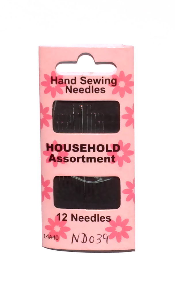 Household Assorted Sewing Needles - 12 pack - by V&A Products