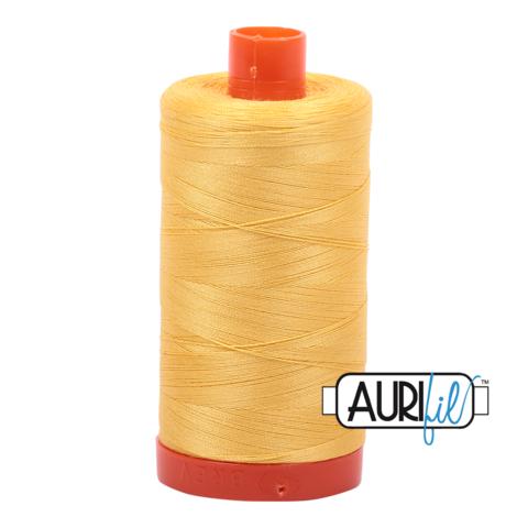 Aurifil Pale Yellow Thread 1135 - 12wt -  Quilting Cotton Thread