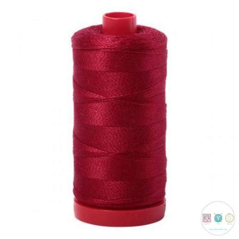 Aurifil Wine Red Thread a2260 - 12wt - Quilting Cotton Thread