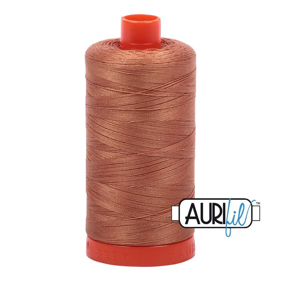 Aurifil Light Chestnut Brown Thread A2330  - 50wt - Quilting Cotton Thread