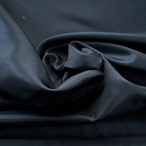 Lining Fabric - Acetate Taffeta in Black