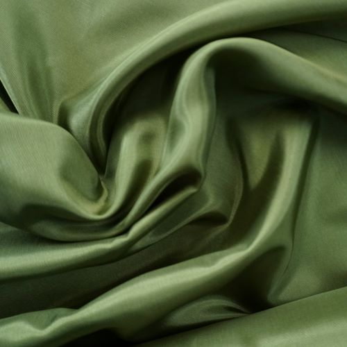 Lining Fabric - Acetate Taffeta in Grass Green
