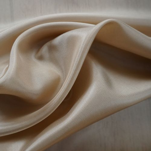 Lining Fabric - Acetate Taffeta in Honey