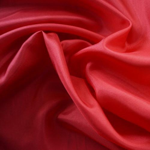 Lining Fabric - Acetate Taffeta in Lipstick Red