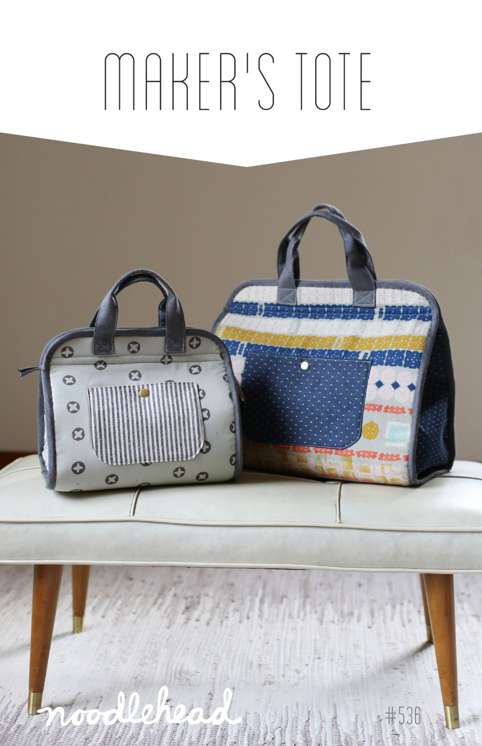 Noodlehead - Makers Tote Bag Sewing Pattern