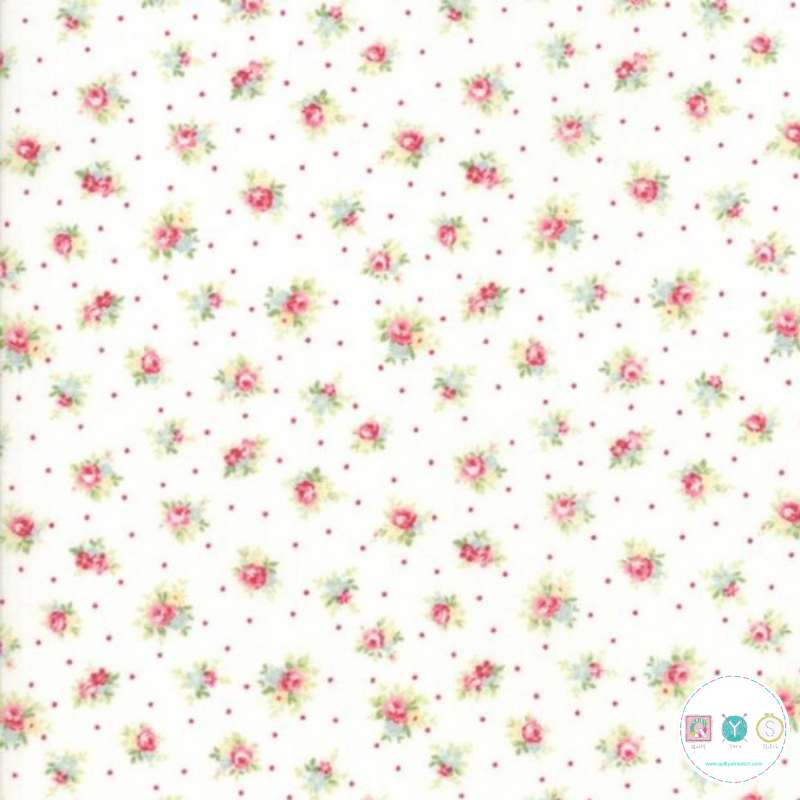 Small Floral - Amberley - by Brenda Riddle for Moda Fabrics - Patchwork & Quilting