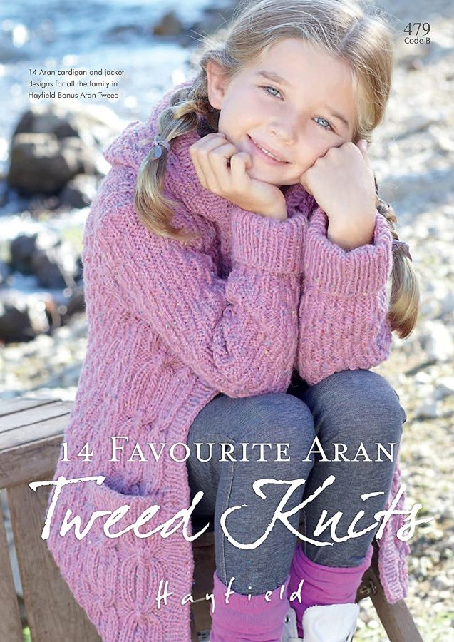 Aran Yarn Knitting Book by Sirdar 479B
