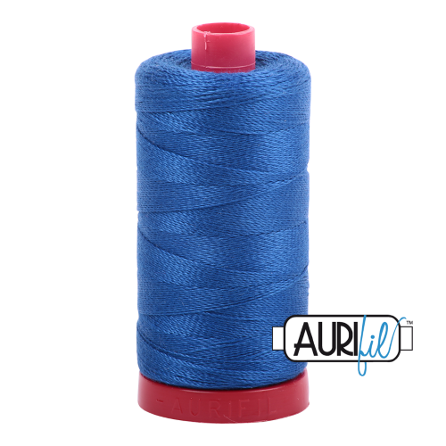 Aurifil Medium Blue Thread  A2735 - 12wt - Quilting Cotton Thread