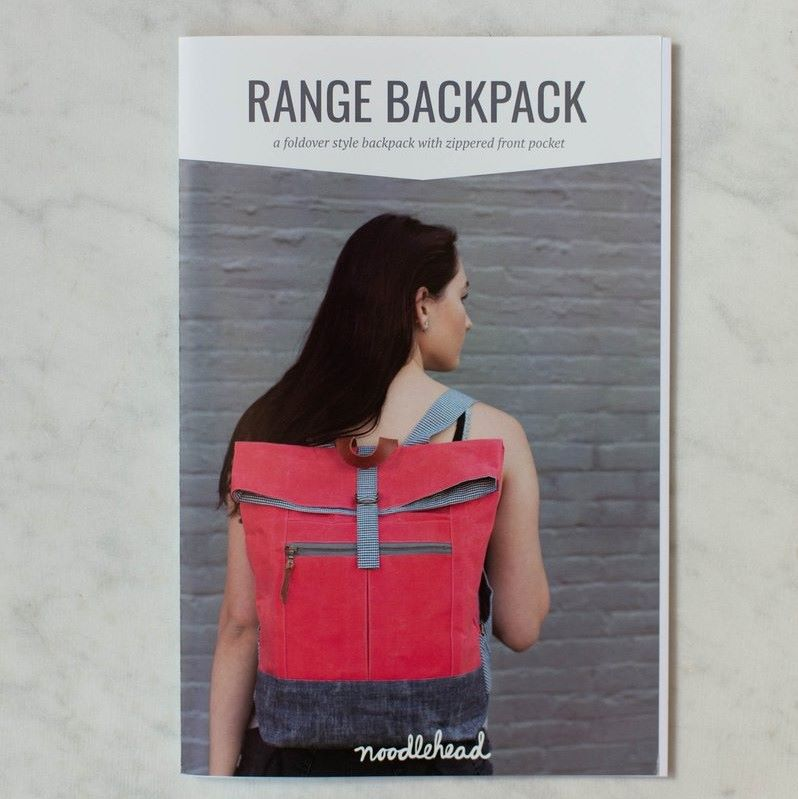 Backpack Sewing Pattern The Range by Noodlehead