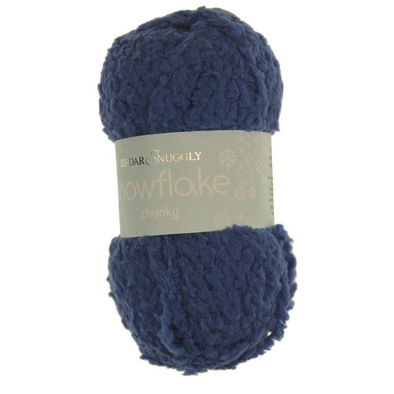 Snowflake Chunky Wool by Sirdar - Baloo Navy Blue 668