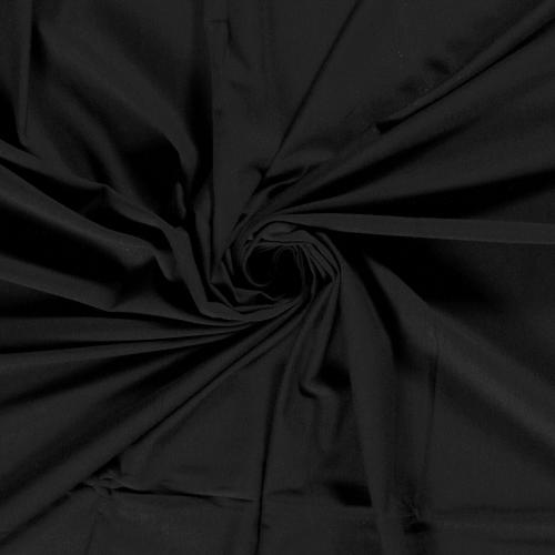 Bamboo Jersey Fabric in Black