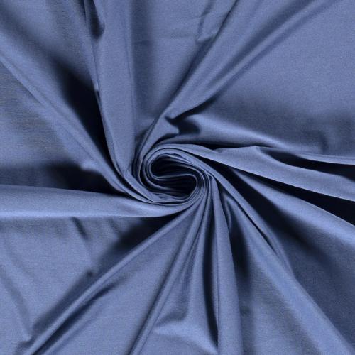 Bamboo Jersey Fabric in Denim Blue
