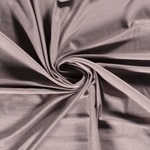 Bamboo Jersey Fabric in Taupe Grey