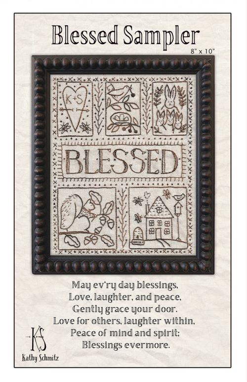 Blessed Sampler Embroidery Kathy