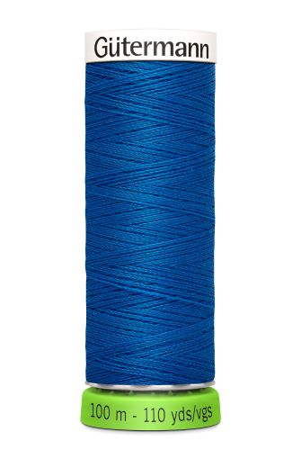 Gutermann Sew All Thread - Blue Recycled Polyester rPET Colour 322