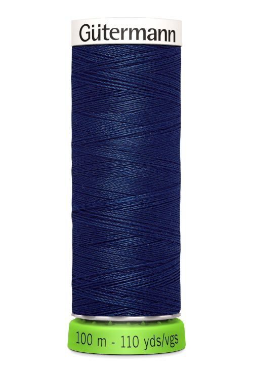 Gutermann Sew All Thread - Blue Recycled Polyester rPET Colour 13