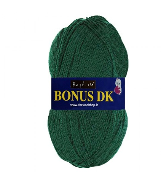 Hayfield Bonus DK Wool - Bottle Green Knitting Yarn 839